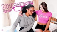 Heather teen model College nerd tries lesbian pussy for the first time - model time
