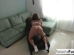Natasha Nice enjoys a little alone time!