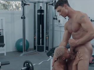 Noir Male – Gym buddies Cade Maddox & Marcel Tykes end up fucking