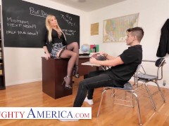 Naughty America - Sophia Deluxe Gets A Good Fucking Good Class Agreement