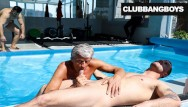 Good citizen statistics gay Senior citizen takes a hot load by the pool