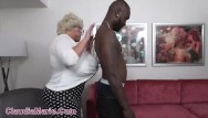 Silicone pumping transsexual Claudia marie impregnated by foot long black cock