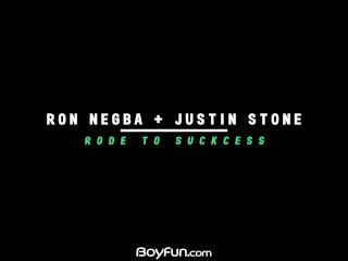 Boyfun – Czech Sexy Twink Ron Bareback Gives It To American Justin Stone