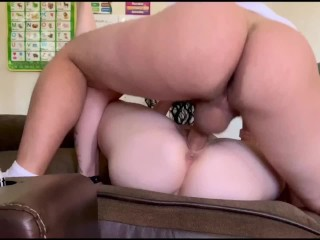 My O My 2 Creampies.4k pulsating,impregnating till it drips.