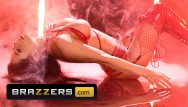 Blonde shemale lingerie Brazzers - hot babe madison ivy fucked hard in red lingerie