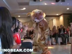 Dancingbear - Gang Of Xxl Dick Masculine Strippers Shovin' Penis In They Face