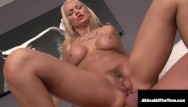 Free gaped pussy pics Ass gaping busty blonde kenzie taylor gets first anal fudge packing ever
