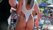 Big naked tit Naked pool party sluts booty shake contest