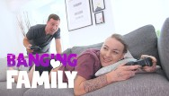 Free rough group fuck video Banging family - video games playing step-sister fucked hard
