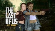 Xxx free interacial The last of us ellie and riley ffm threesome in vr xxx parody