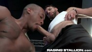 Latin gay stallions Ragingstallion - towel boy fx rios wants more than just the tip