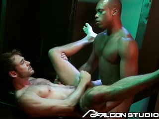 FalconStudios – Reserved Businessman Visits Glory Hole Room