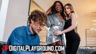 Ebony round ass Digitalplayground - lesbians anya olson ana foxxx eating their pussies