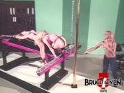 Bruce Seven - Freaky Lesbians Play With Tight Bondage