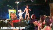Corvair strip Dancingbear - strip club debauchery, cfnm style