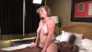 Nude strawberry blonde Busty phat strawberry hot blonde is surprised gets her 1st big black cock