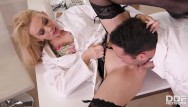 Medical fetish clinci Big titty nurse amber jayne nailed hardcore by the doc in the kinky clinic