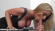 Best milf tube site Mommyblowsbest - stepmom catches me spying on her