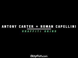 BoyFun – Latino Twink Roman Capellini Gets Fucked Hard By Hung Antony Carter