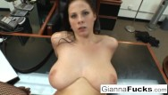 Gianna michaels anal clip Pov interracial fuck with gianna