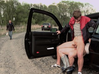 GAYWIRE – Two Hot Studs Out In Public, Butt Fuckin' With Reckless Abandon
