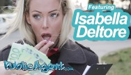 Cumshots in public videos Public agent sexy blonde australian isabelle deltore plays with a stranger for money