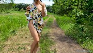 Shameless showtime nude blonde girl Young shameless girl walks without panties and masturbates outside - sexy yum yums
