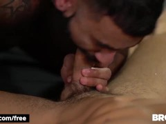 Bromo - Tattooed Rikk Yorki Gets His Ass Drilled Raw By Damien Stone