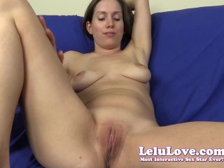 Hot Sex With Horny Talking Begging For Your Huge Creampie – Lelu Love