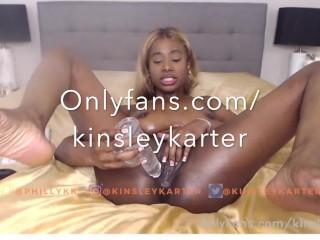 Onlyfans dot com/kinsleykarter Recorded Webcam Show 6.19