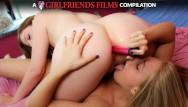 Brutial anal assalts Hottest girl on girl anal compilation
