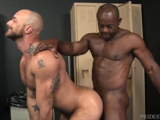 Extra Big Dicks – Aaron Trainer Can't Conceal His Massive Erection