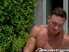 Cade Maddox Has Special Relationship With His Young Pool Boy - FalconStudios