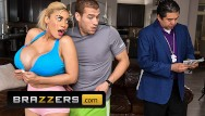 Platnium blond pussy Brazzers - amber alena desperately wants her training instructors big cock