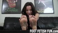 Sexy old foot fetish Pov foot massage and femdom feet worshiping porn