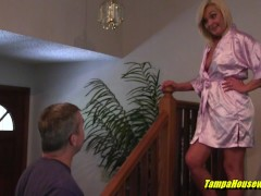 Bisexual Spouse Gets A Belt Dick Pegging