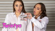 Ass licking compilation Twistys - lesbian jenna sativa, gia derza oil up and lick each