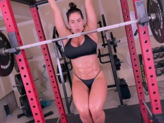 Big Bumpers Dark Haired Gets An Powerful Ass-fuck Boink In The Gym After Core Workout