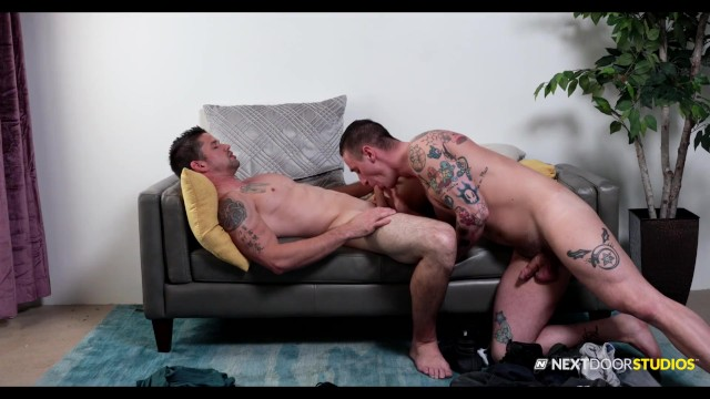 NextDoorStudios - Inked Jock Takes His Date's Long Hard Dick