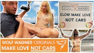 Jessica difeo naked Tesla protest kitty blair demonstrates naked for greater good outdoor fuck wolf wagner