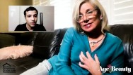 Adult novelty bib Step-gilf rubs one out on call with ricky spanish