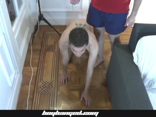Boy Banged – Latin Teen Banged Hardcore In His Tight Boy Hole By Older Dude