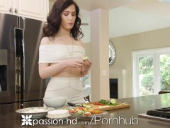 Passion-hd Bony Stunner Gives Up The Puss To Bf