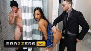 Lala Ivey Fucks Her Security & Friend Cock In a Threesome