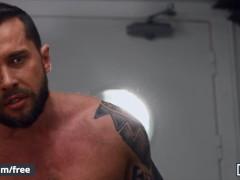 Mencom - Lukas Daken Gets His Arse Barebacked By Wolf Man Pierce Paris