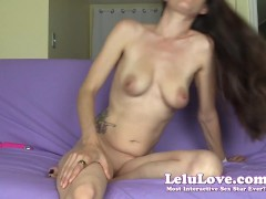 You Worship My Big Ass & Feet While I Tease You & Masturbate & I Might Let You Cum Too - Lelu Love