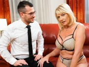 Hot Granny Wants The Room Service Guy Inside Her