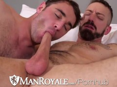 Manroyale Large Dick Get Throated All Over The Place