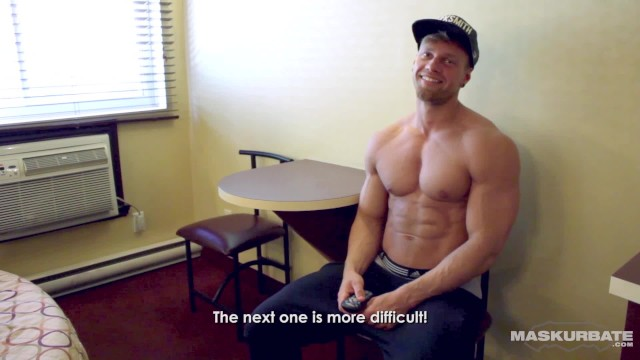 Maskurbate - Hot Strip Game With Buff Uncut Hunk