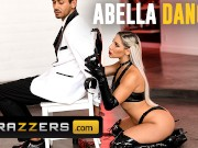 Brazzers - Thicc Abella Danger doms big cock in leather boots